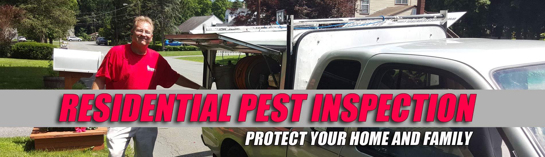 Residential Pest Inspection